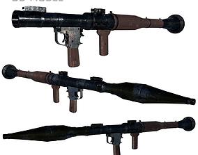 RPG - 7B 3D Model rigged