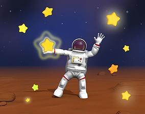 3D asset Spaceman