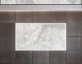 3D model Wall Panel Set 68