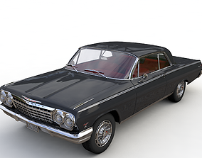 oldtimer 3D model Chevy Impala SS Coupe 1962
