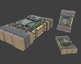 Improvised Detonation Charge C4 3D asset