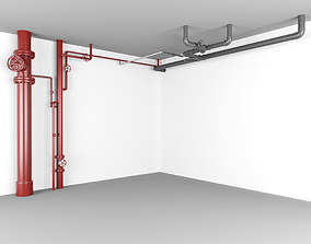 3D asset Water Pipes