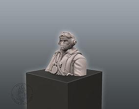 3D print model Pilot Bust