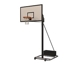 basketball stand01 3D