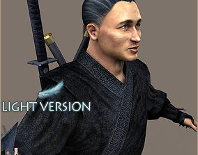 3D model Ninja Otoko Light Version