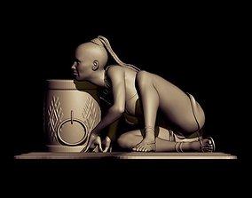 sculptures savage dance 3D print model