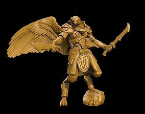 Aarakocra Warrior 3D printable model