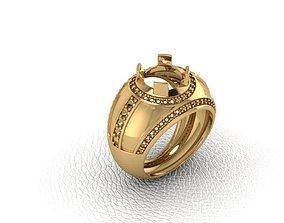 Ring 3D print model dress