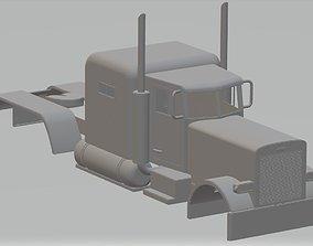 Peterbilt 359 Printable Body Truck