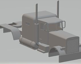 Peterbilt 359 Printable Body Truck