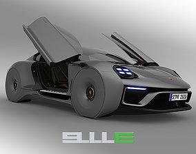 3D model Porsche 911E concept by emrEHusmen