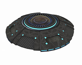 3D model ALIEN UFO SPACESHIP