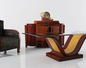 furniture set 04 am142 3D model