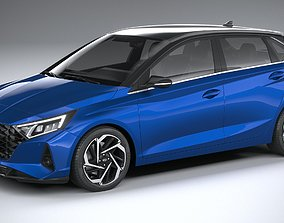 Hyundai i20 2021 3D