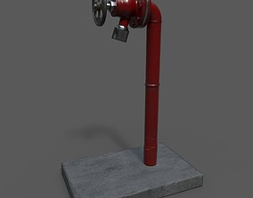 water pipe 3D asset
