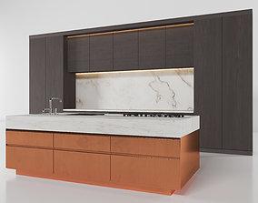 3D Modern kitchen 2