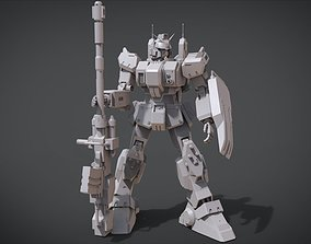 3D print model Gundam Ground Type RX-79