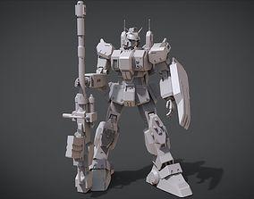 3D print model Gundam Ground Type RX-79