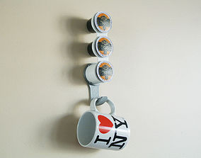 3D printable model K-cup and Mug cup Holder