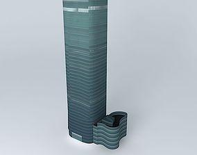 3D model Asset Mirae Asset Tower Building