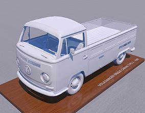 3D printable model VOLKSWAGEN SINGLE CABINE TYPE 2 -