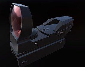 3D model Reflex Sight scope
