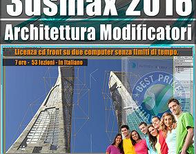 008 3ds max 2016 Architettura e Modificatori vol 8 cd 1