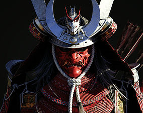 3D model Samurai Warlord - Shogun - UE4 Project