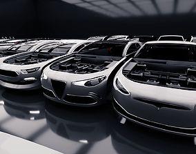 Modular Car Creation Tool 3D model