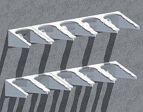 3D printable model skadis Wall bracket -