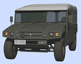 3D Japan Ground Self-Defense Force Toyota High Mobility
