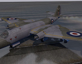 3D English Electric Canberra pack