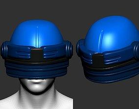 helmet high poly sculpt 3d printable crusader