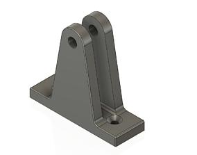 3D printable model base articulated flat mount marine 3