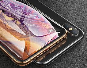 iphone Xs max 3D model