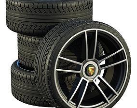 3D Porsche wheels