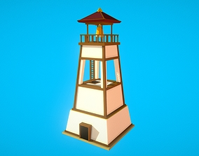 3D asset HIE LookOutTower N1