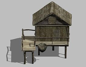 3D model FishermanHouse