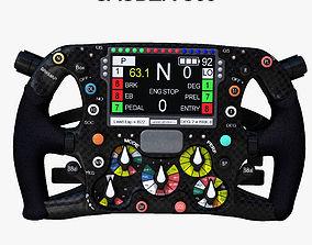 C35 Steering Wheel 3D asset