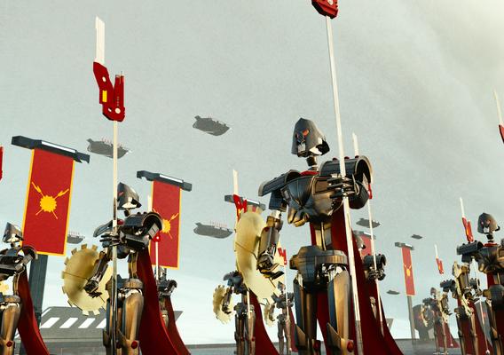 Spartan Robot
