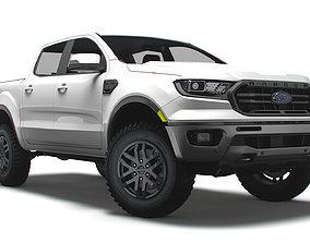 3D model Ford Ranger Lariat US 2021