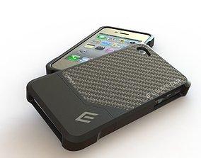 3D model Formula 4 Carbon Fiber iPhone Case