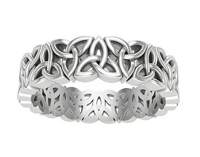 ring with Celtic ornaments 3D print model