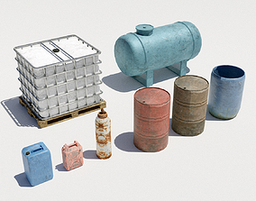 3D model Collection - Liquid tanks