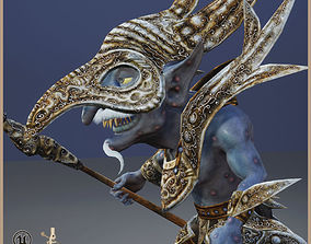 Goblin Shaman 3D model