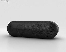 Beats Pill Plus Black 3D model