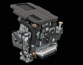 3D Car Engine engine