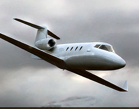 3D vehicle Bombardier Learjet 60