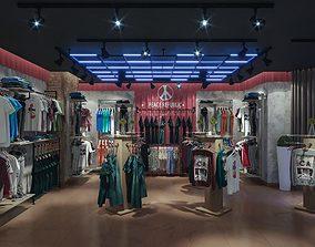 3D Tax Man High Fashion Shop Design