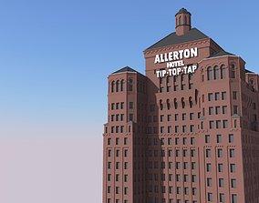 3D print model Allerton Hotel